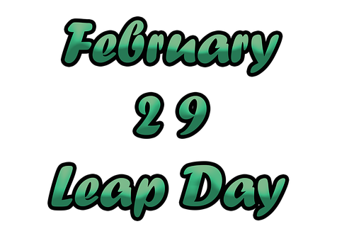 February 29th Leap Day