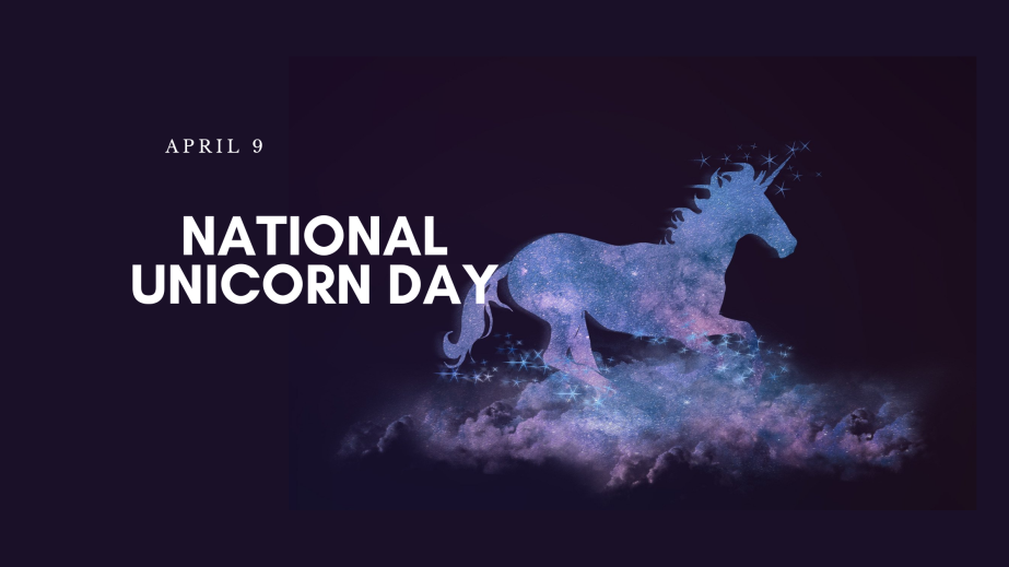 April 9th National Unicorn Day